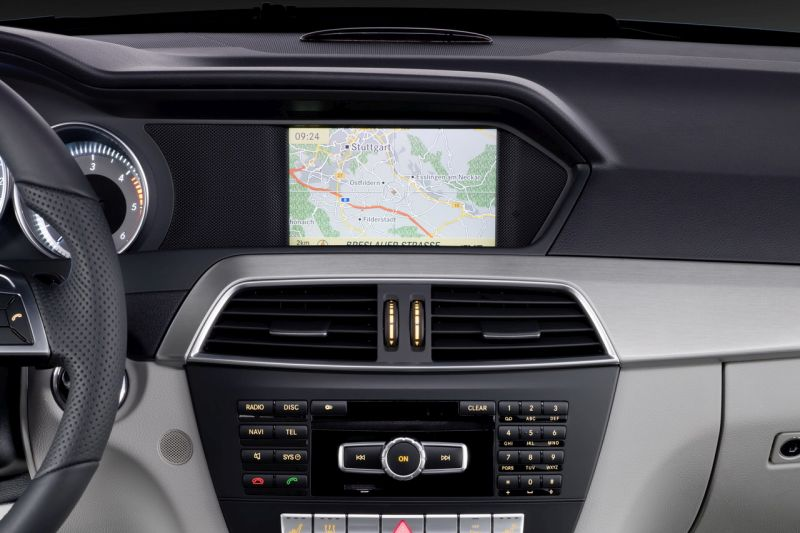 mercedes ntg 4.5 comand online navigation - serwis nawigacji